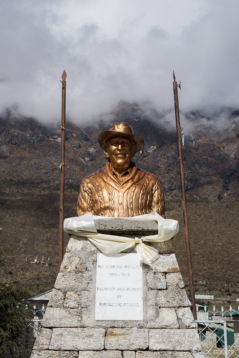 Himalaya,Khumbu,Khumjung,Nepal, Hillary, Sir Edmund Hillary