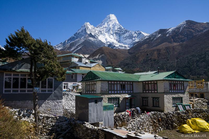 Ama Dablam,Himalaya,Khumbu,Nepal,Pangboche