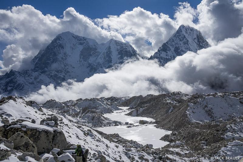 Cholatse,Himalaya,Khumbu,Khumbu Glacier,Nepal,Taboche Peak