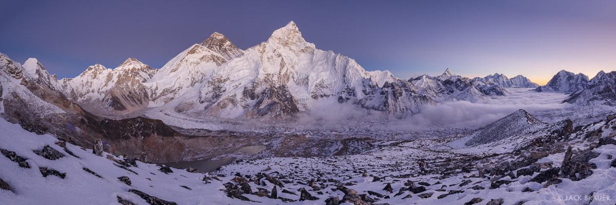 Himalaya,Kala Patthar,Khumbu,Mt. Everest,Nepal,Nuptse, Ama Dablam, panorama
