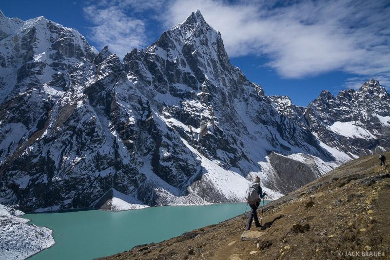 Cholatse,Himalaya,Khumbu,Nepal, hiking