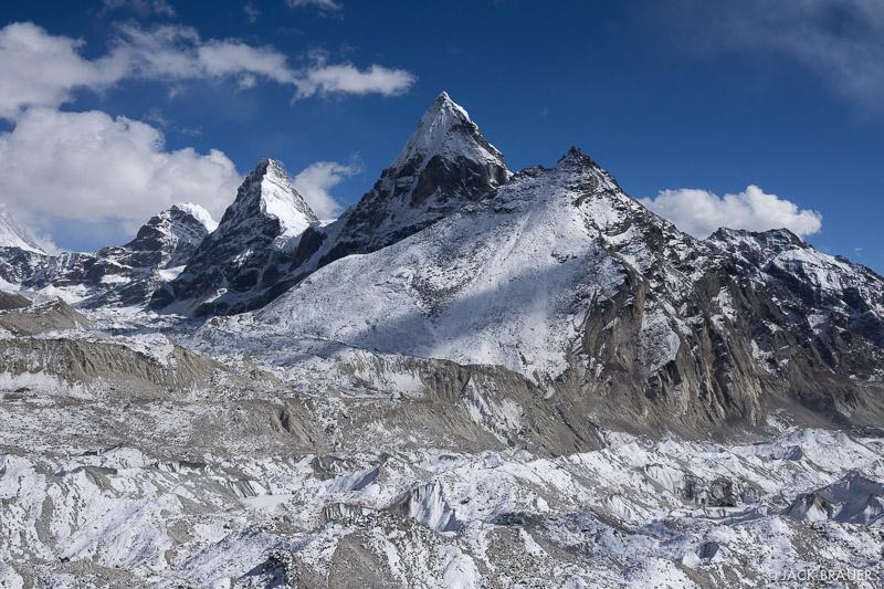 Cholo,Himalaya,Khumbu,Nepal,Ngozumba Glacier