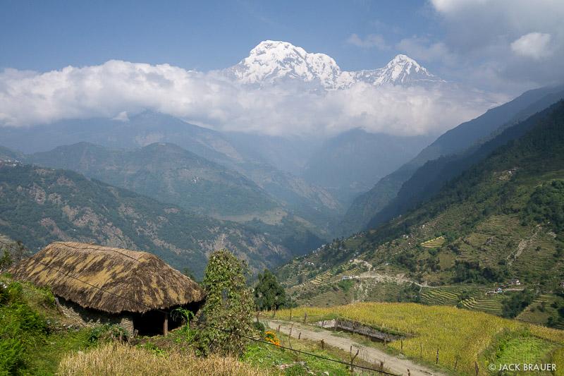 Annapurna South,Annapurna Range,Tolka,Himalaya,Nepal