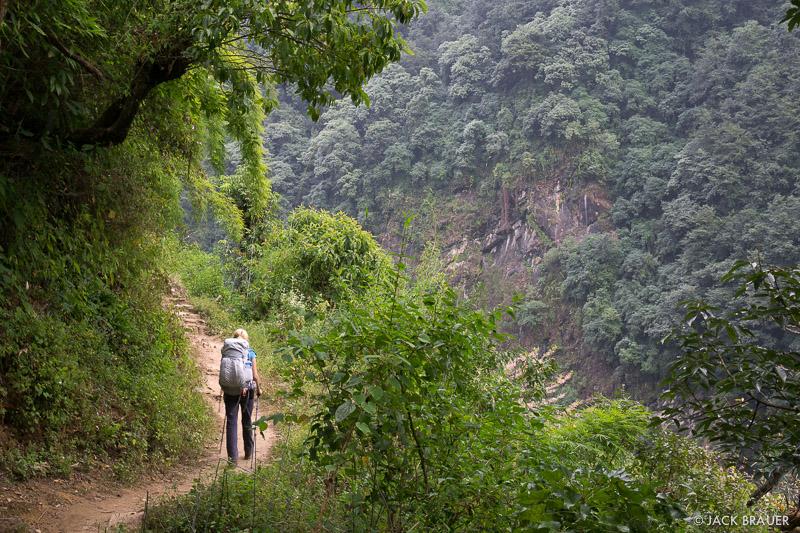 Annapurna Range, Himalaya, Nepal, hiking, trail
