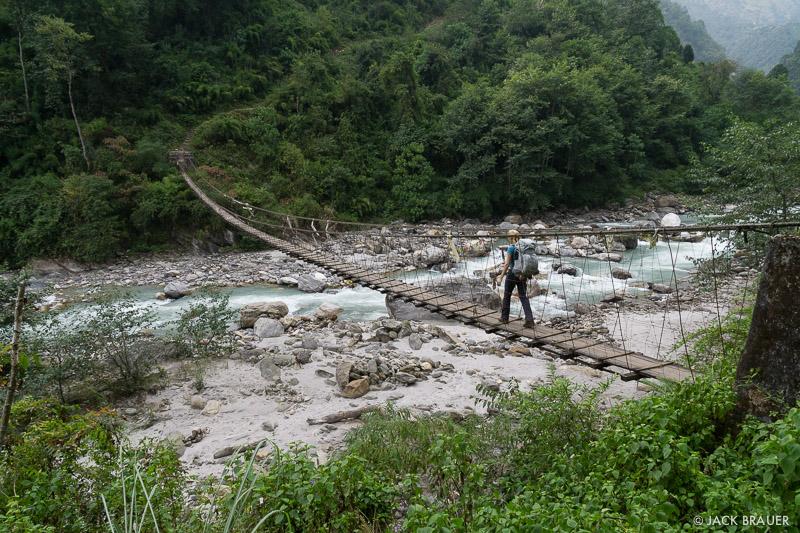 Annapurna Range, Himalaya, Modi Khola, Nepal, hiking