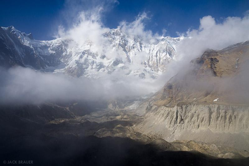 Annapurna,Annapurna Range,glacier,Himalaya,Nepal