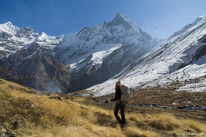 Annapurna Range, Asia, Himalaya, Machhapuchhre, Nepal, hiking