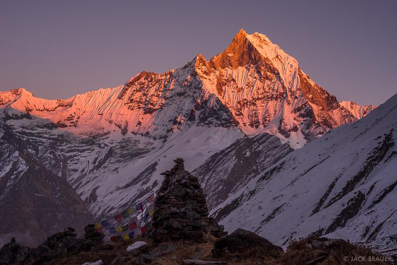 Annapurna Range,Himalaya,Machhapuchhre,Nepal