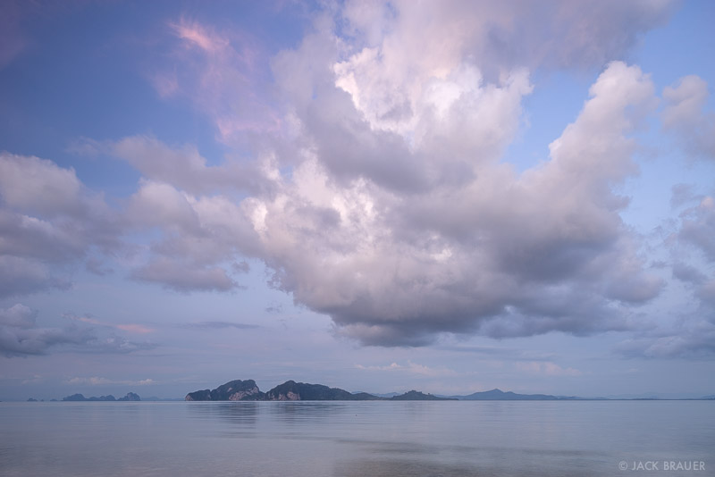 Ko Kradan, Thailand, Andaman Sea, cloud