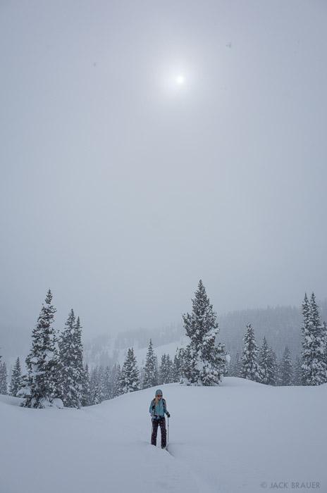 Colorado,San Juan Mountains, skiing, skinning, hiking