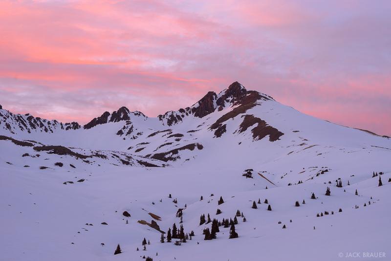 Colorado, San Juan Mountains, Uncompahgre Wilderness, Matterhorn Peak