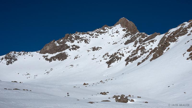 Colorado, San Juan Mountains, Uncompahgre Wilderness, Wetterhorn Peak