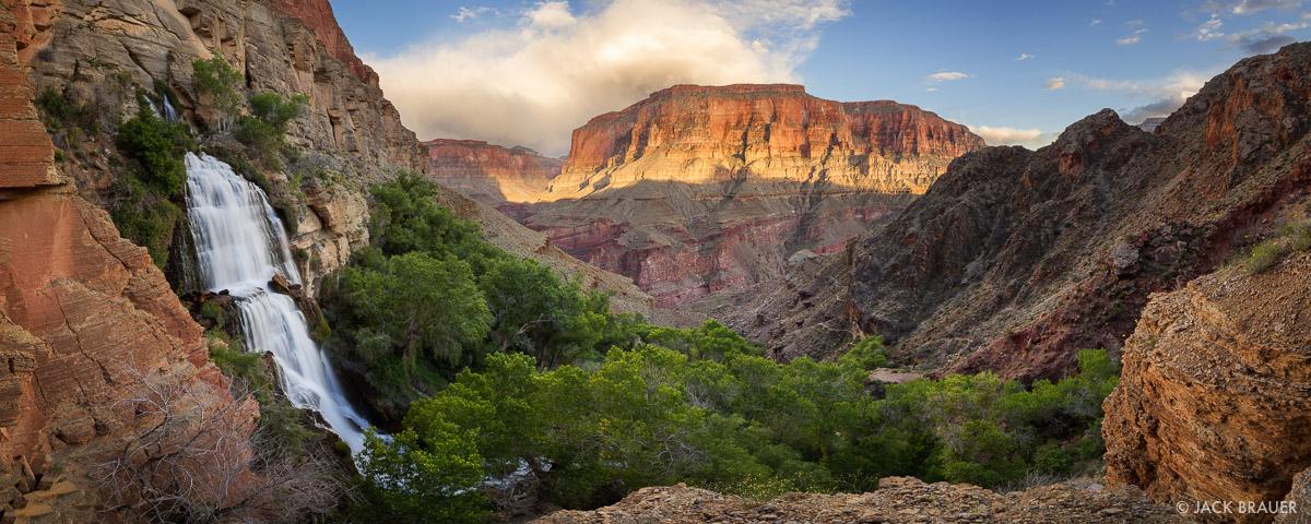 Arizona,Grand Canyon,Thunder River,panorama,waterfall