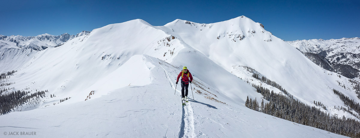 Colorado,Red Mountain Pass,San Juan Mountains, skiing, skinning, hiking