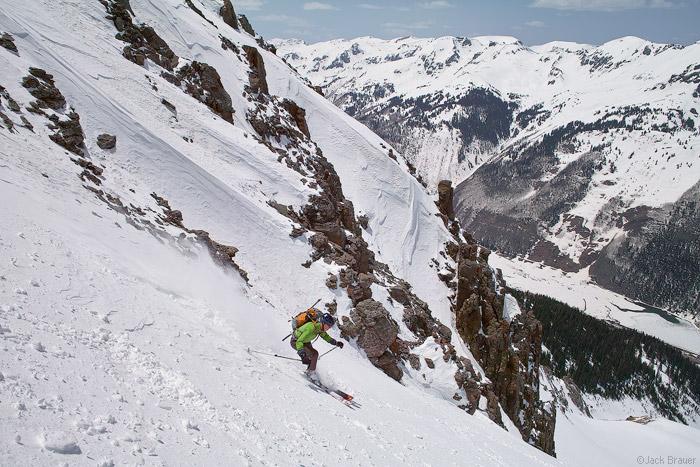Skiing, Abrams Mountain,Colorado, photo