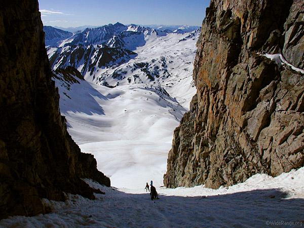 Castle Peak, Elk Mountains, fourteener, Colorado, Maroon Bells-Snowmass Wilderness, photo