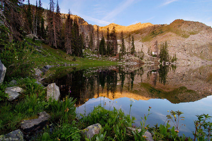 Gilpin Lake, Mount Zirkel Wilderness, Colorado, photo