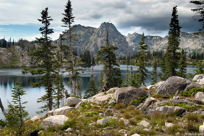 Big Agnes Mountain, Gilpin Lake, Park Range, Colorado, photo
