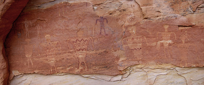 Anasazi petroglyphs, photo
