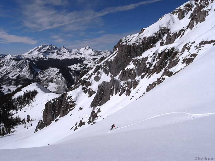 snowboarding, San Juan Mountains, Colorado,, photo