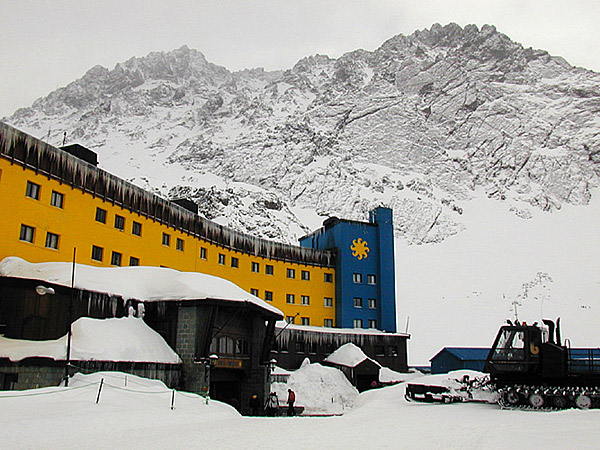 Portillo, Chile, hotel, photo