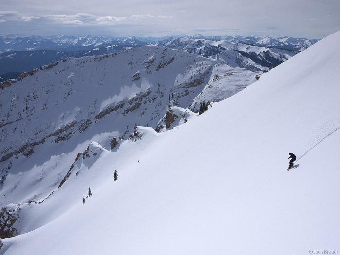 Martini, Jackson Hole, Wyoming, snowboarding, photo