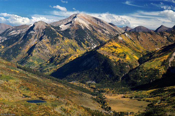 Treasure Mountain, Marble, aspens, September, Colorado, photo