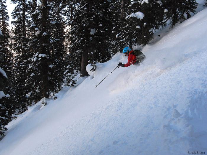 skiing, powder, San Juan Mountains, Colorado               , photo