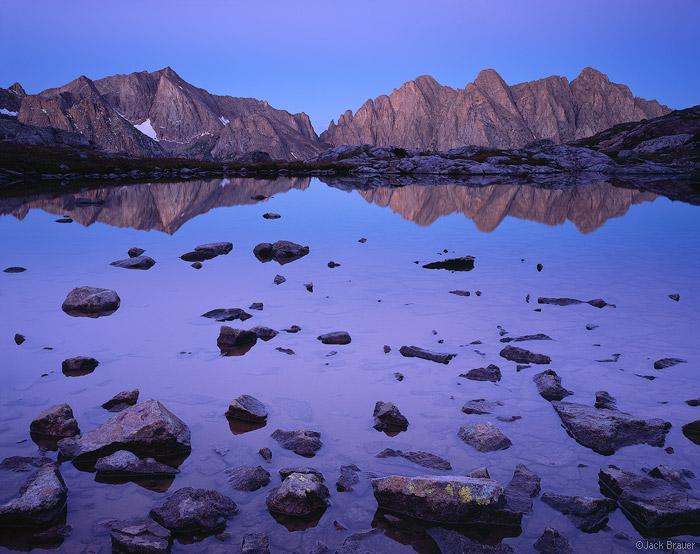 Reflejo del monte Eolo