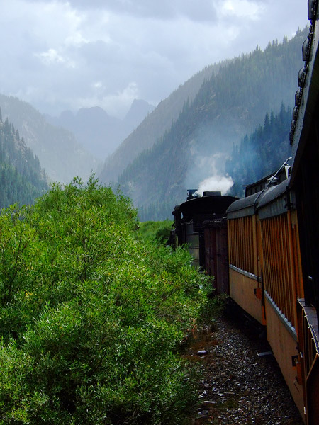 Durango & Silverton Narrow Gauge Railroad, photo