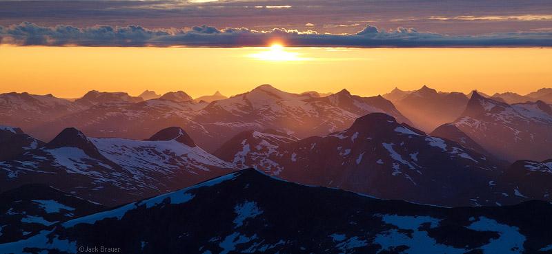 Sunnm 248 Re Sunset Sunnm 248 Re Alps Norway Mountain