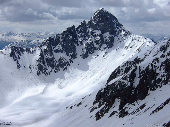 Ophir Pass, peak, photo