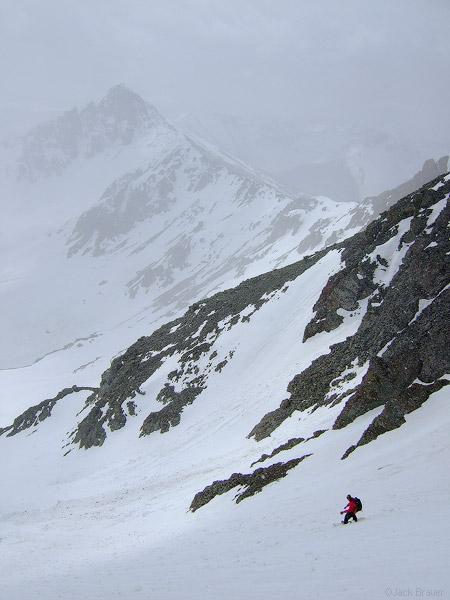 South Lookout Peak, Jason King, photo