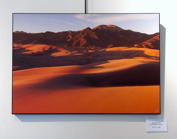 Orange Dunes, print, photo