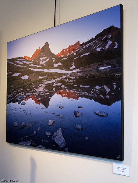 Ice Lakes Basin Reflection, print, photo