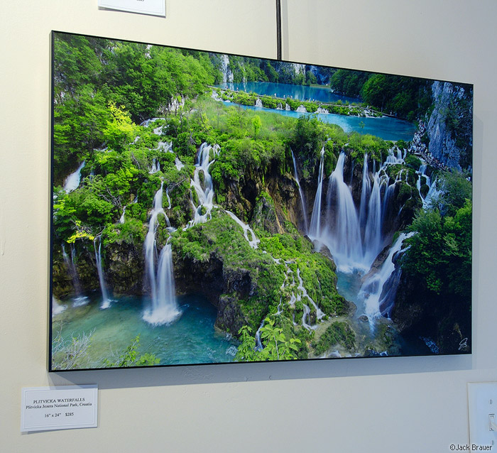Plitvicka Waterfalls, print, photo