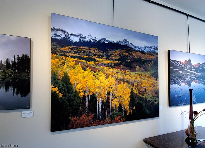 Sneffels Range Autumn, print, photo