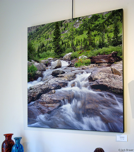 Tetons Cascade Creek, print, photo