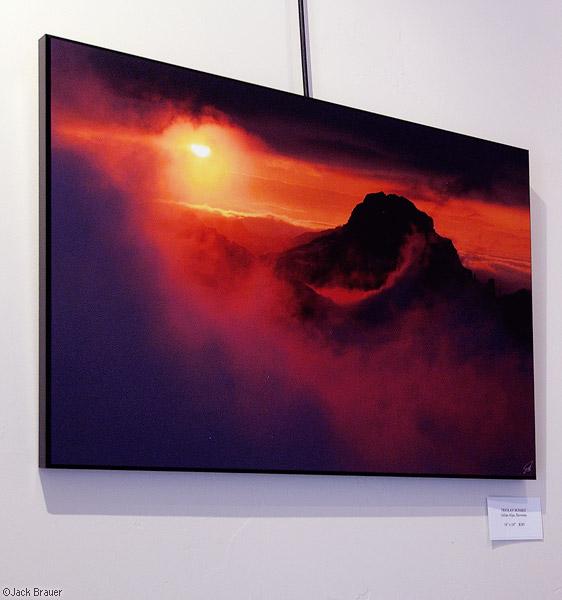 Triglav Sunset, print, photo