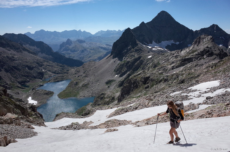 Pic d' Arriel, Pyrenees, hiking