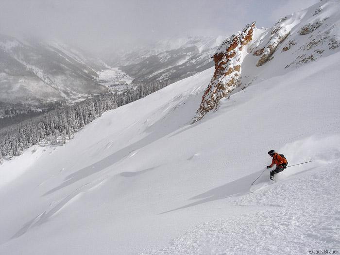 backcountry, skiing, San Juans, Colorado, photo