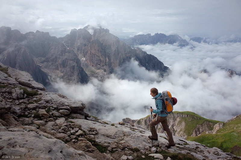 Dolomites, Italy, Rosengarten, Maximilian, Cima di Terrarosa, hiking