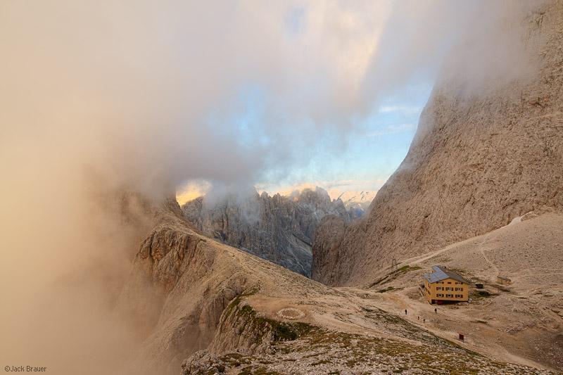 Rifugio Re Alberto, Dolomites, Italy