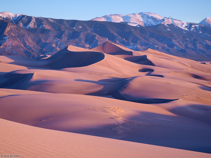 Star Dune Sunset : Great Sand Dunes, Colorado : Mountain ...