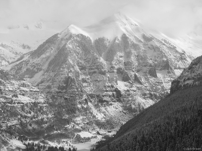 Telluride, Ajax Peak, photo