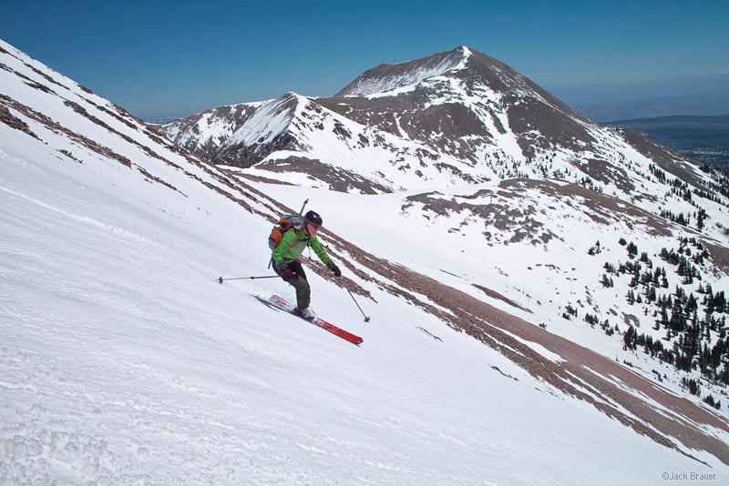 skiing, Mount Tukuhnikivatz, La Sal Mountains, Moab, Utah, April, Tuk, photo