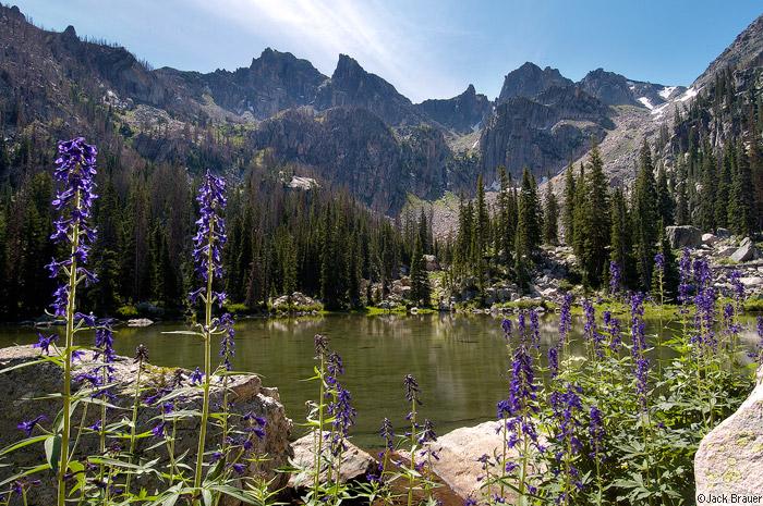 Sawtooth Range, Park Range, Mount Zirkel Wilderness, Colorado, photo