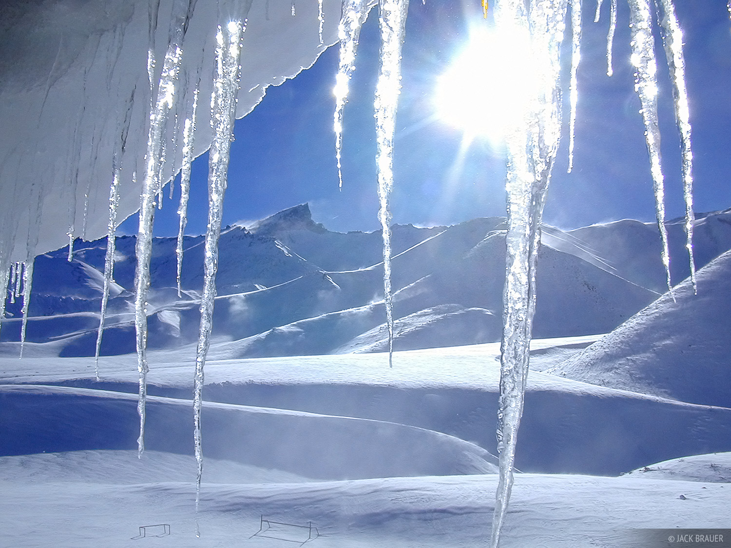icicles, Argentina, Las Leñas, photo