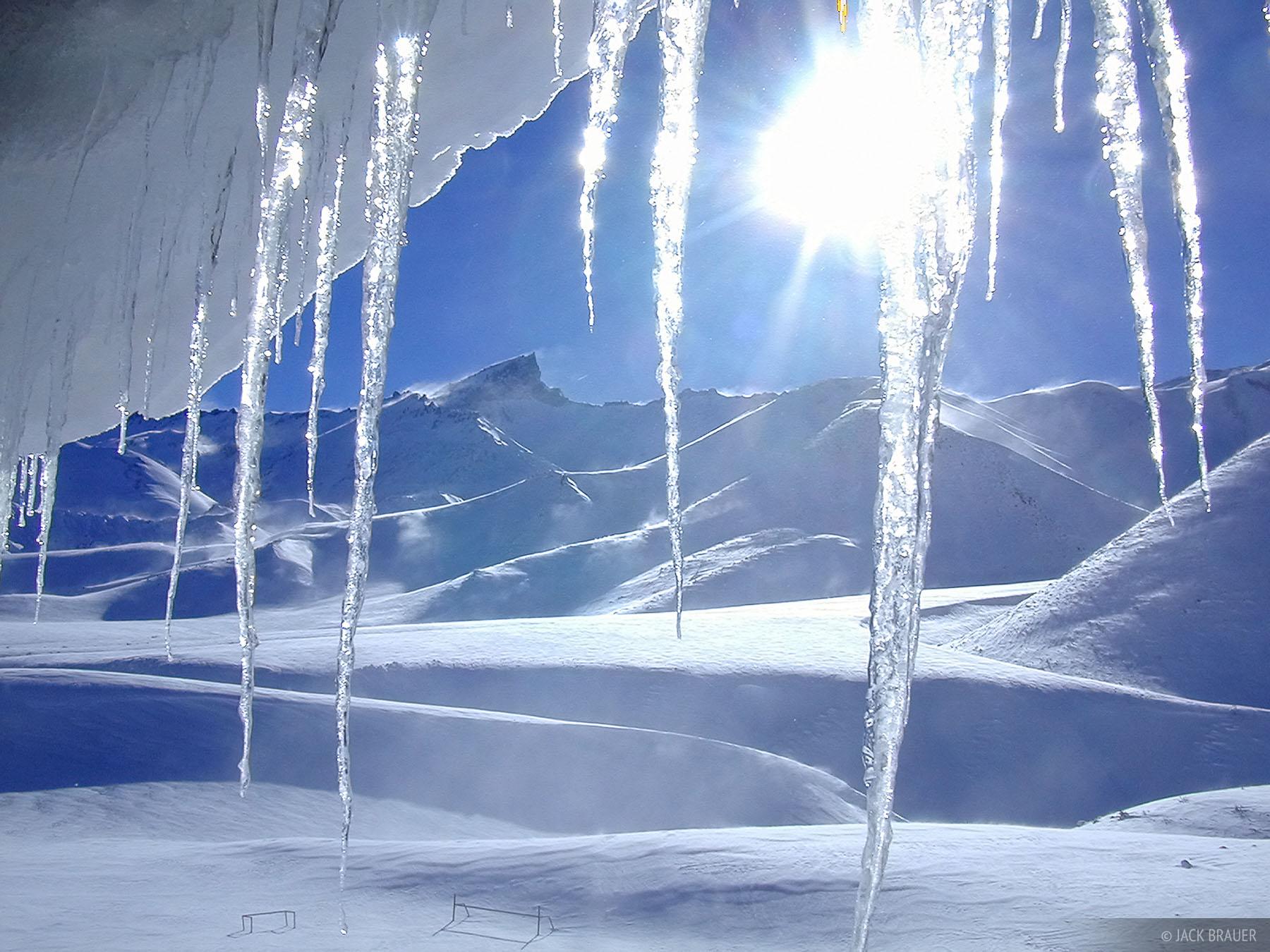 icicles, Argentina, Las Leñas, photo