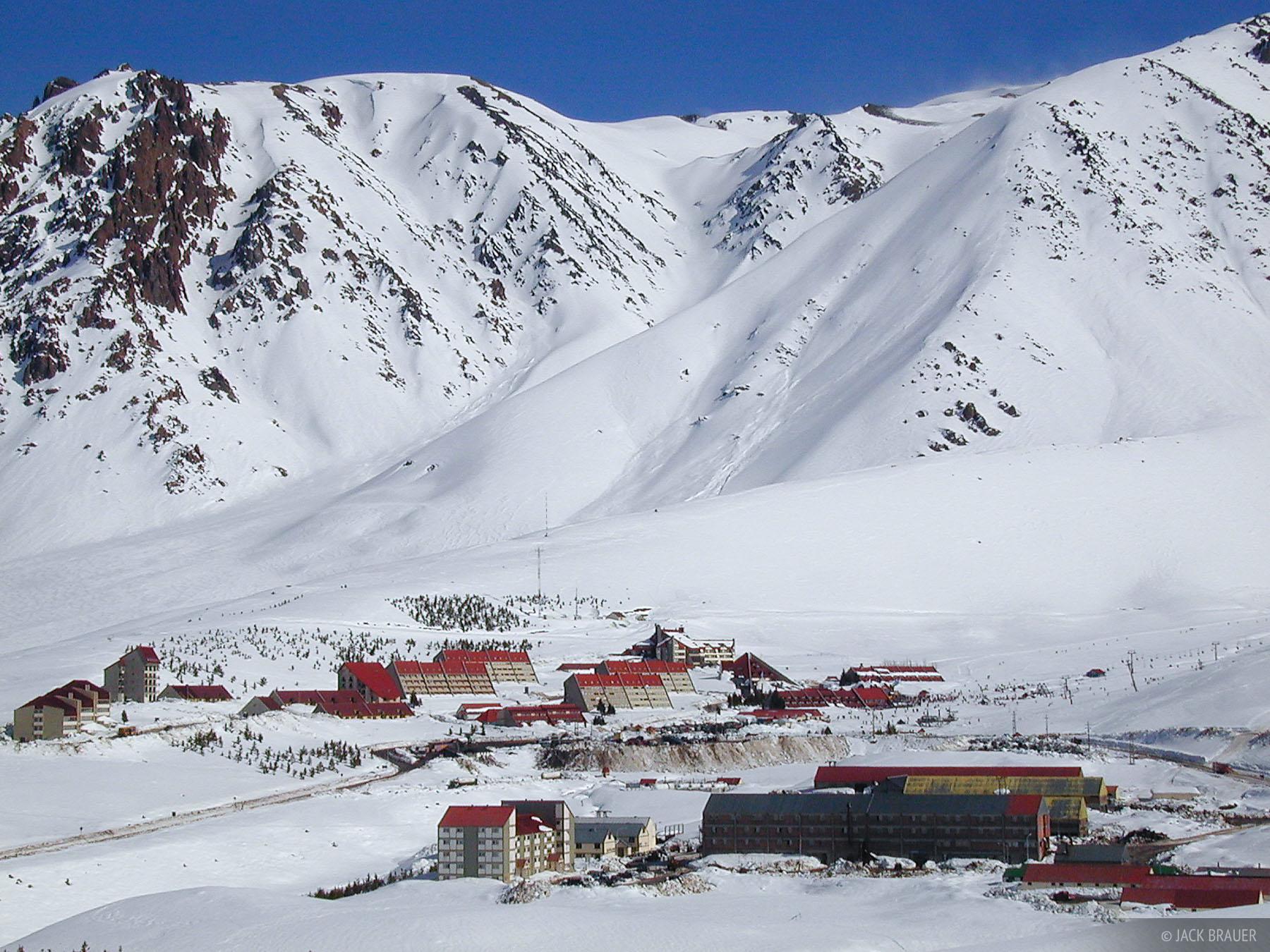 ski resort, Argentina, Las Leñas, photo